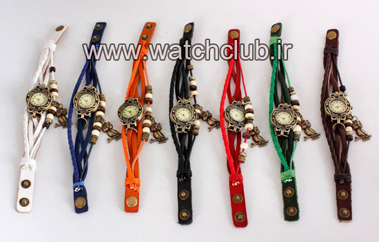 ساعت مچي زنانه دستبندي چرمي